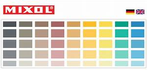 Mixol Tint Color Chart Colour Cards Mixol Produkte Diebold Gmbh Carl Zeiss Str