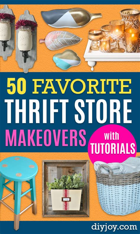 favorite thrift store makeovers