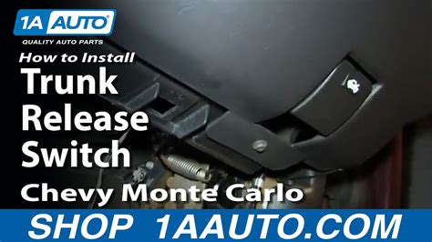 install replace trunk release switch   chevy