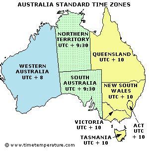 time zones acp ausasia division