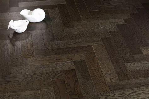 Ash grey oak herringbone hardwood flooring   Yorking Hardwood