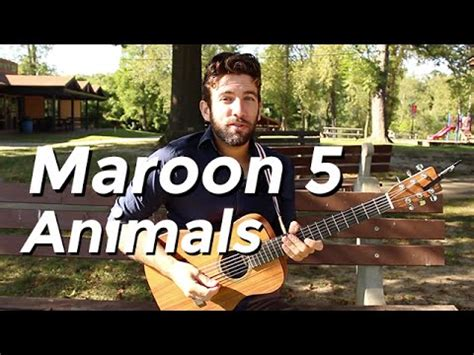 maroon  animals guitar tutorial  shawn parrotte