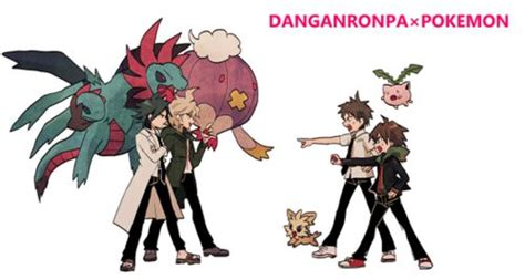 Dangan Ronpa And Pokemon