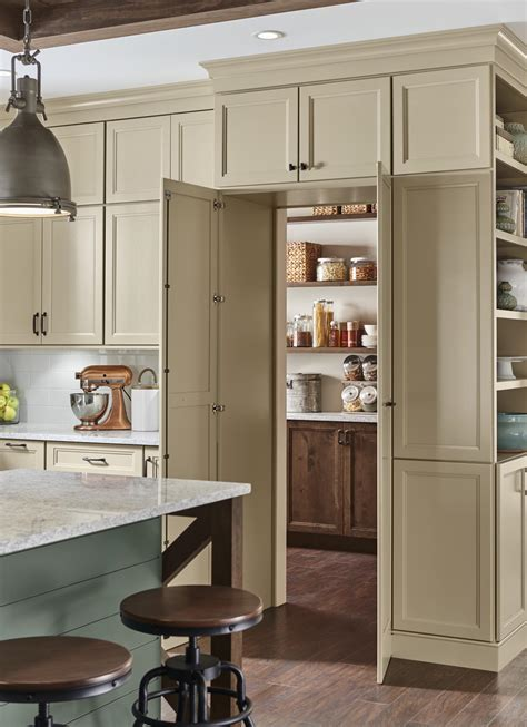 medallion cabinetry walk  pantry