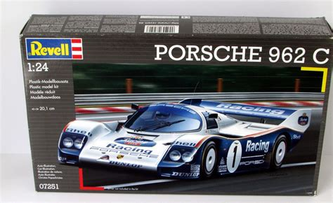 Porsche has created countless competitors over the years. Porsche 962 C Revell Germany #07251 1/24 Scale Race Car ...
