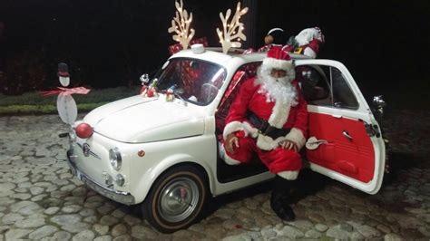 Fiat Of Santa by Santa Claus In Fiat 500 La Tua Auto D Epoca Il Nostro