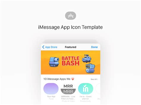 imessage template imessage app icon template sketch freebie free resource for sketch sketch app sources