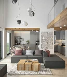 Einrichtungsideen Wohnzimmer Modern : moderne m bel f r moderne wohnung 45 einrichtungsideen ~ Markanthonyermac.com Haus und Dekorationen