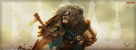 Magic Ajani Mentor Of Heroes Deck by Wallpaper Of The Week Ajani Mentor Of Heroes Magic