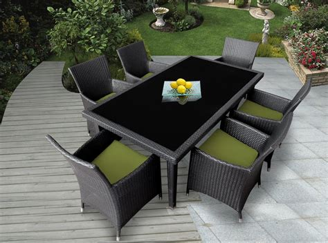 genuine ohana outdoor patio wicker furniture 7pc all