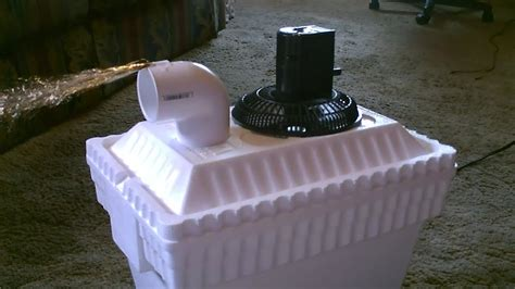 homemade ac air cooler diy   solar powered home
