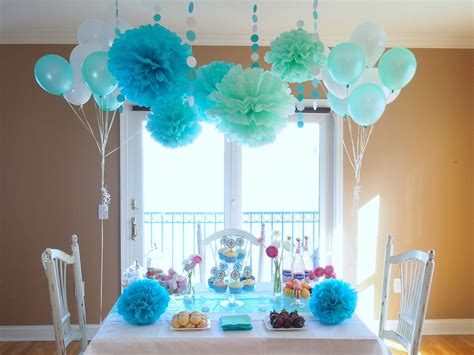Tiffany Blue Party Shower Decorations Blue Party