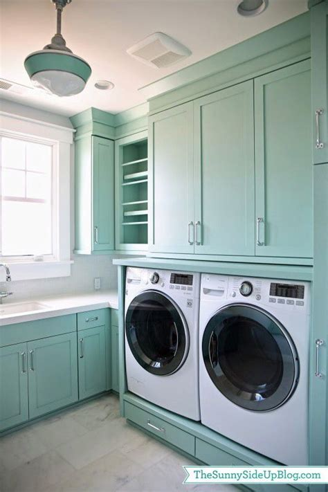 laundry room super awesome blue green paint colour in