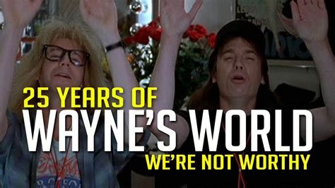 Wayne's World 25th Anniversary