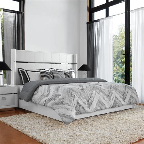 buy diana engineered wood hydraulic storage queen size bed