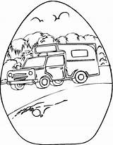Coloring Camper Camping sketch template