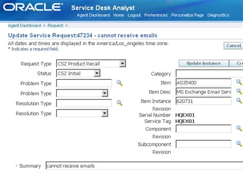tjx service desk oracle oracle teleservice implementation and user guide