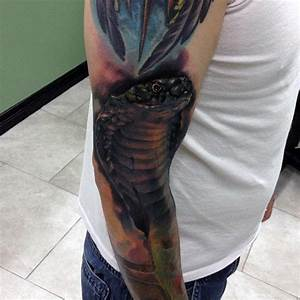 90 Cobra Tattoo Designs For Men - Kingly Snake Ink Ideas
