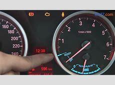 BMW ActiveHybrid X6 Cuadro de instrumentos Pantalla