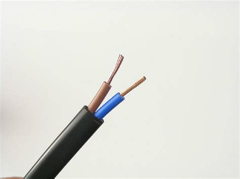 three wire electrical cable flat bvvb electrical wiring zhenhua oem china