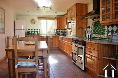 cuisine amenagee farmhouse for sale paray le monial burgundy 12696