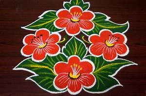 Flower Rangoli - Flowers Ideas For Review