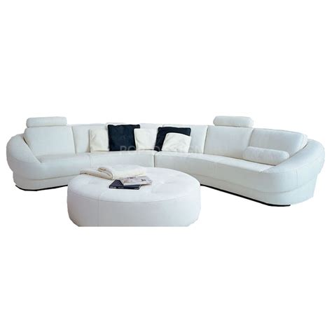 canapé pouf design canapé d 39 angle design en cuir aquila pouf pop design fr