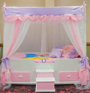 twin ultimate princess canopy bedding girls bed canopy