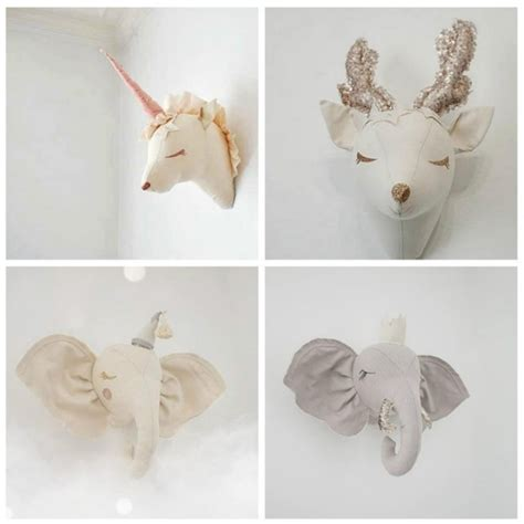 5 out of 5 stars (1) $ 130.00 free shipping only 1 available and it's in 11 people's carts. Animal Heads Wall Hanging Decor For Kids Room Elephant Deer Unicorn Head Wall Decor For Children ...