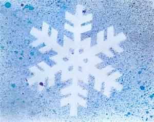 Mit Wasserfarbe Malen : kinder malen und basteln schneeflocke mit wasserfarben malen ~ Watch28wear.com Haus und Dekorationen