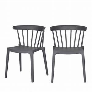 Chaise Exterieur Design : chaises d 39 ext rieur contemporaines x2 bliss drawer ~ Teatrodelosmanantiales.com Idées de Décoration