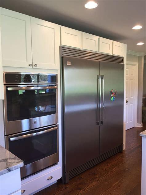 kitchen cabinet kits my new kitchen frigidaire with trim kit 5533