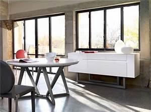 une salle a manger contemporaine avec adulis de gautier With salle À manger contemporaine avec fabricant cuisine