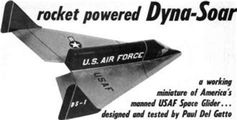 rocket jetex powered dyna soar article plans july