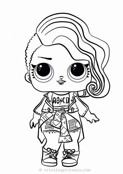 Lol Coloring Pages Dolls Doll Surprise Painting