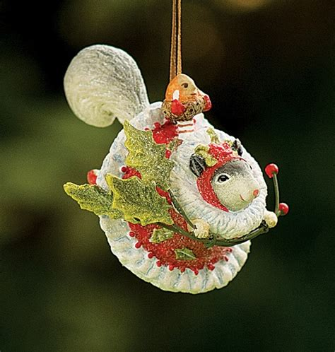 2009 krinkles mini mrs squirrel ornament
