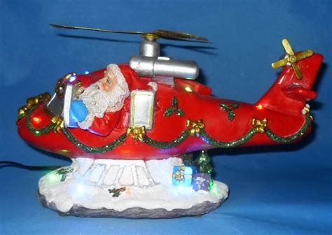 china santa  xmas helicopter  china