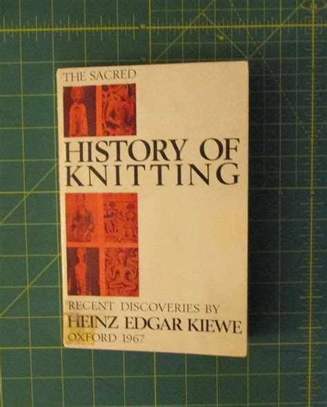 sacred history  knitting  discoveries  heinz