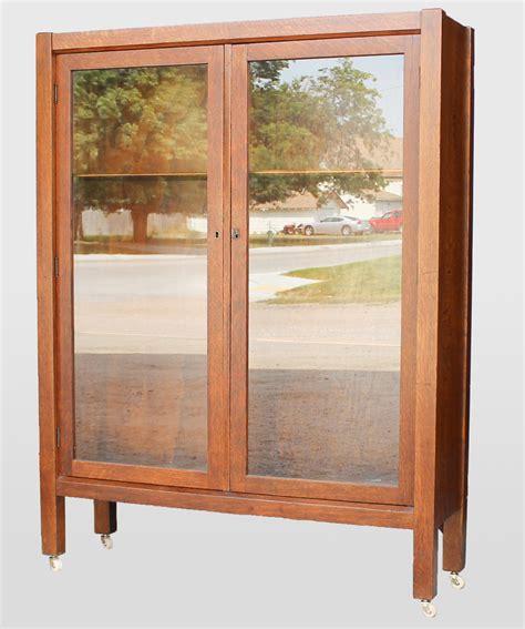 oak bookcase with doors bargain john 39 s antiques blog archive antique mission oak