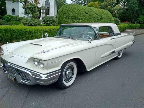 1958 Ford Thunderbird For Sale Classiccarscom Cc 994299