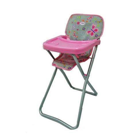 chaise haute poupée chaise haute pour poupée calinou magasin de jouets pour