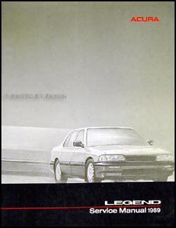 free car manuals to download 1989 acura legend seat position control 1989 acura legend sedan repair shop manual original