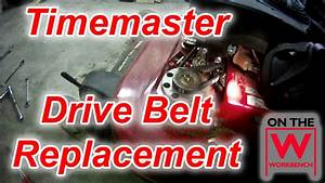 Toro Timemaster Drive Belt Replacement
