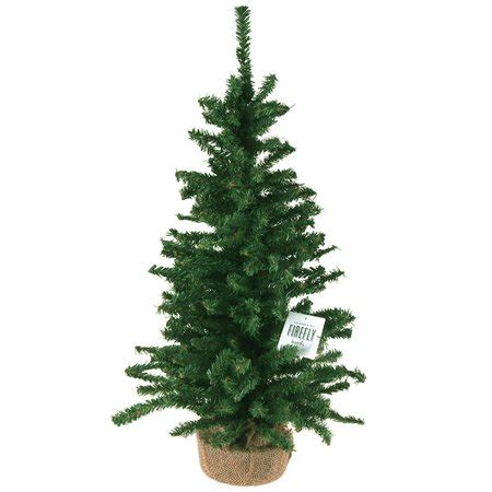 walmart 65 artifical xmas trees mini tree artificial pine trees green 24 inch