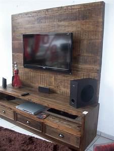 Acheter Meuble En Palette Bois : 1001 id es meuble tv palette le recyclage en cha ne ~ Premium-room.com Idées de Décoration