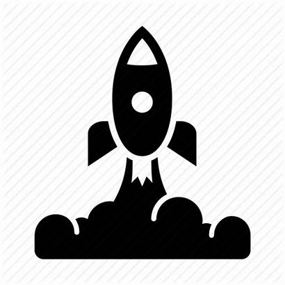Rocket Icon Launch Spaceship Space Icons Spacecraft