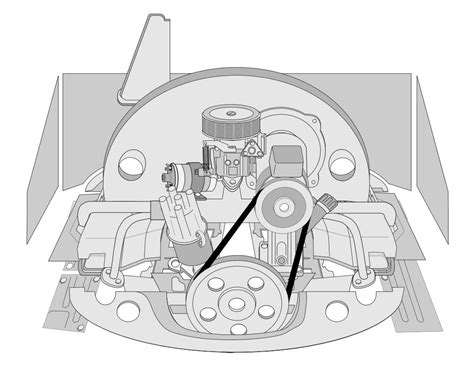 Diagram Of 1972 Vw Bug Engine by Vw Engine Tin Chrome Vw Parts Jbugs