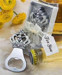 not just wedding favors 4881fc crown design bottle opener favors
