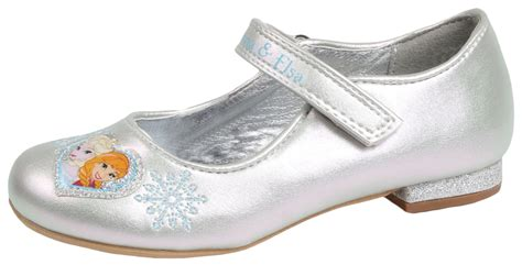 Kids Girls Disney Frozen Dress Up Shoes Glitter Princess