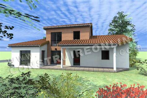 plan maison etage 4 chambres 1 bureau vente de plan de maison à étage